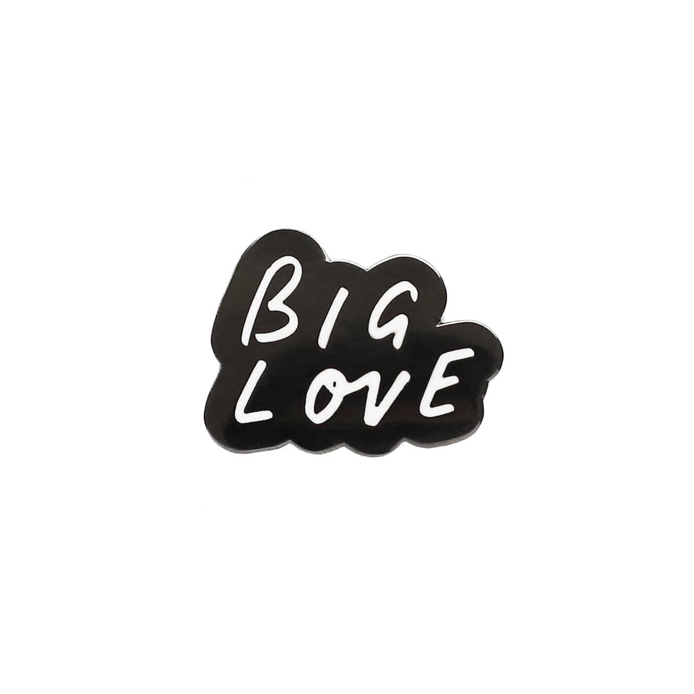 big love enamel pin