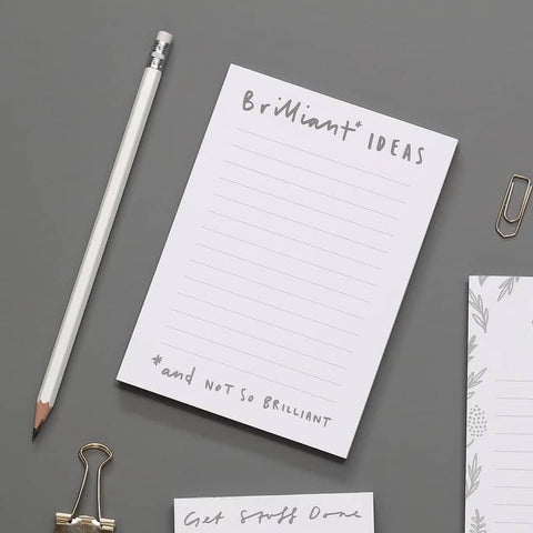 Brilliant Ideas A6 Notepad
