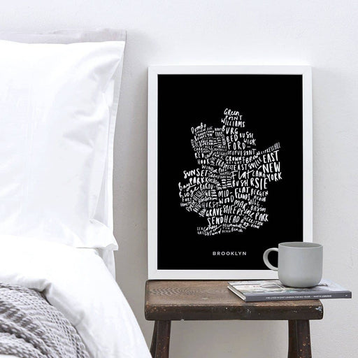 Brooklyn Map Print