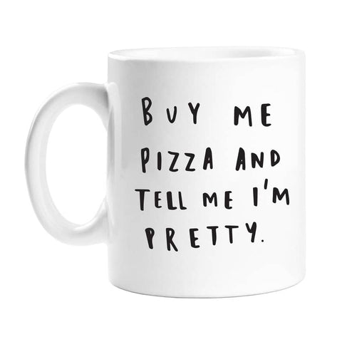 Buy Me Pizza Mug