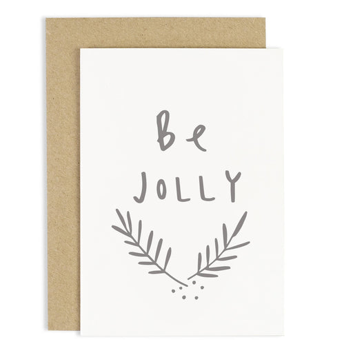 Be Jolly Christmas Card