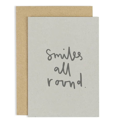 smiles all round card