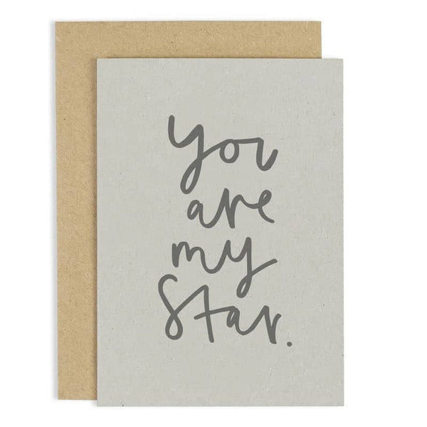 You Are My Star Card