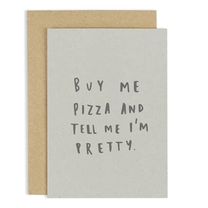 buy me pizza card