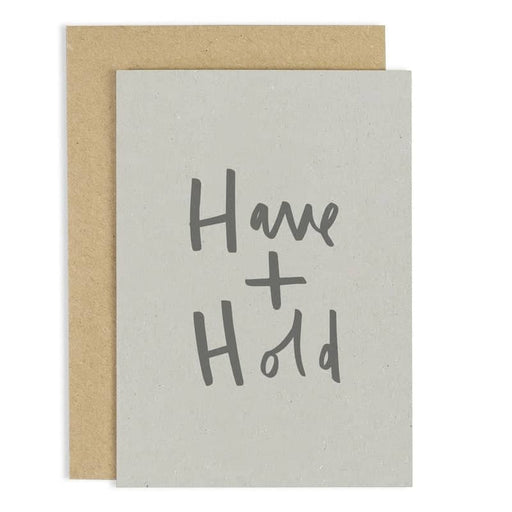 have and hold card