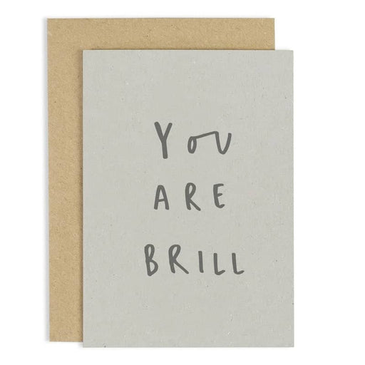 you are brill card