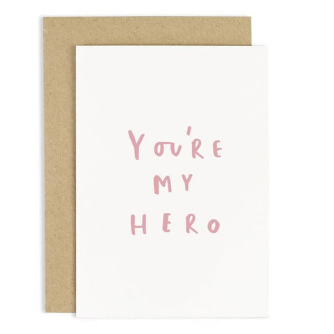 You're My Hero Mother's Day Card