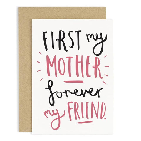 First My Mother Mother's Day Card