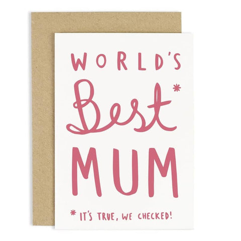 World's Best Mum Card