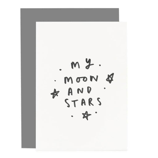 my moon and stars greeting card