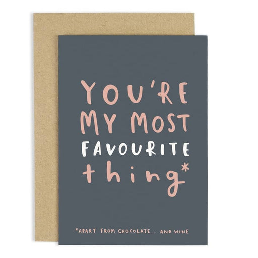 FAVOURITE THING CARD