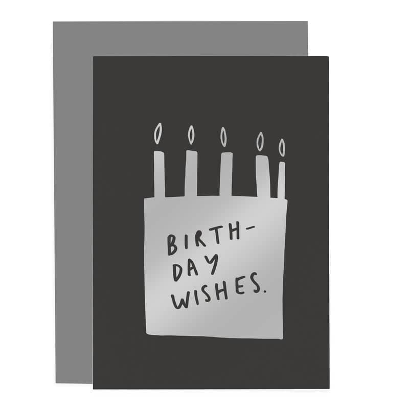 birthday wishes cake card