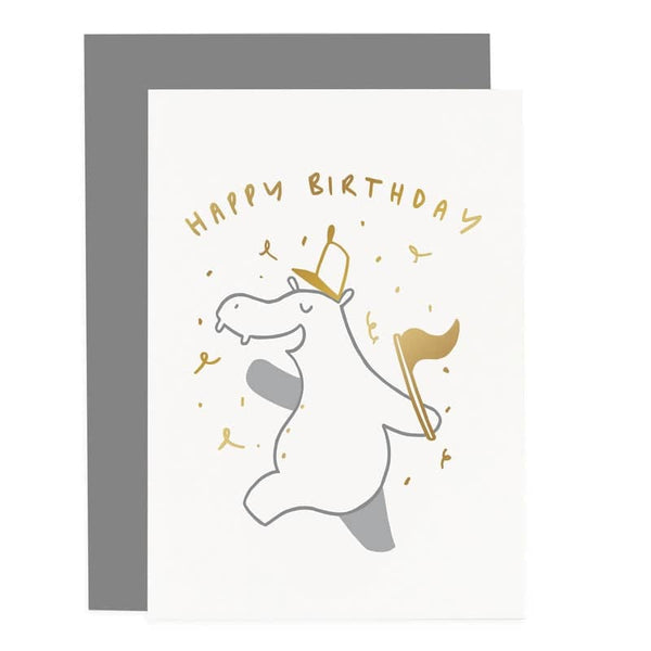 child's animal birthday card