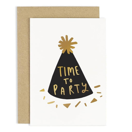 time to party birthday card