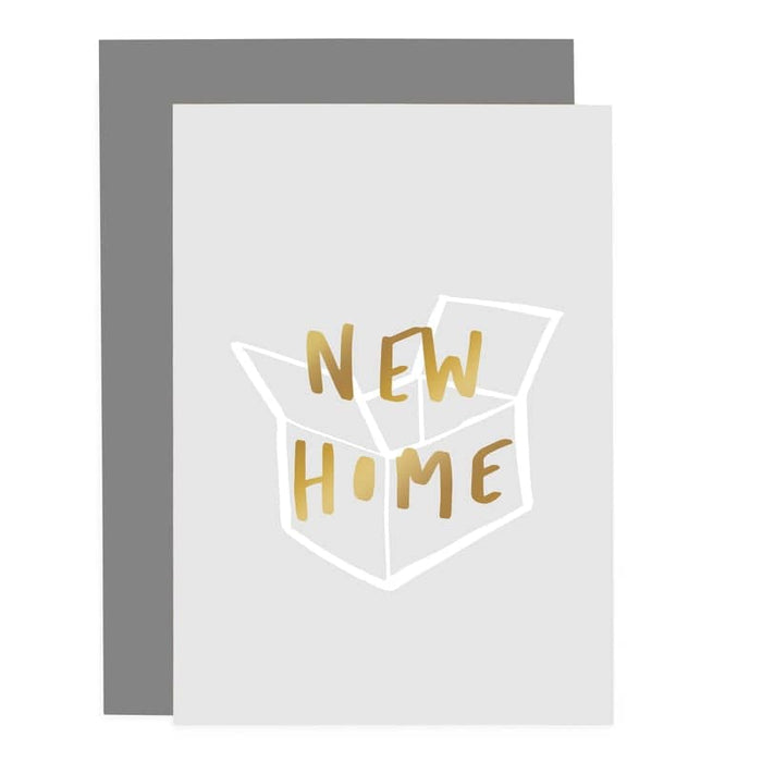 new home packing card