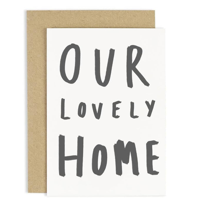 our lovely home card