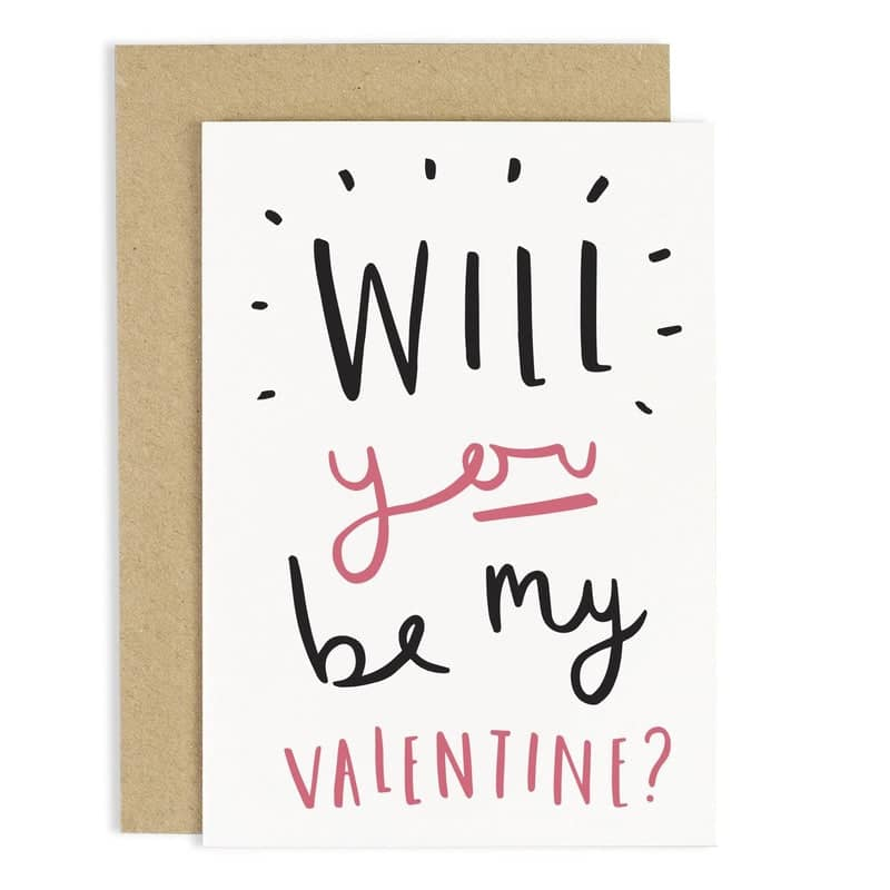 Will You Be My Valentine Card ...