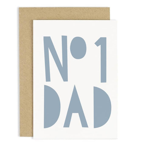 Number One Father's Day Card