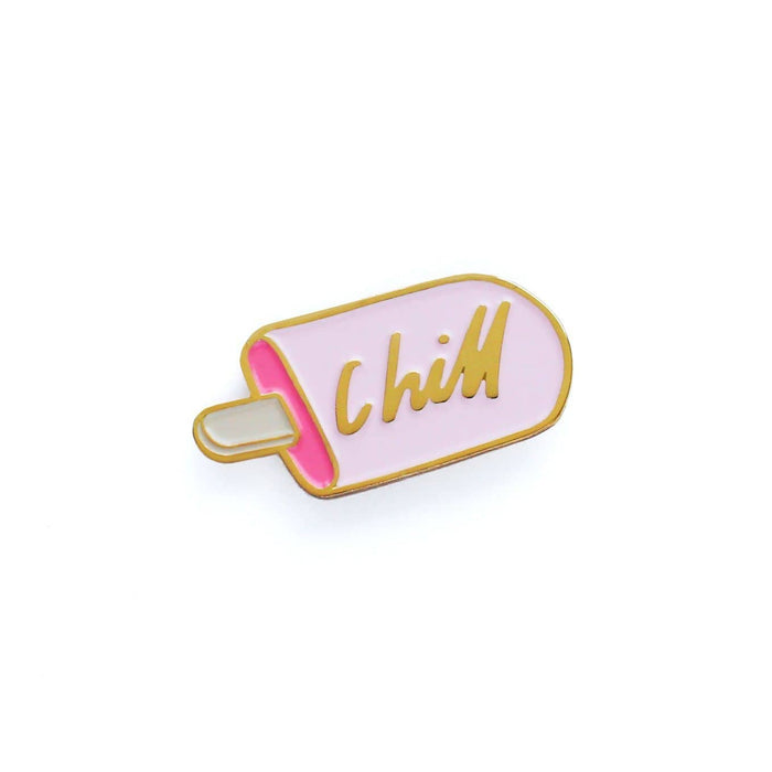 Chill Ice Lolly Enamel Pin