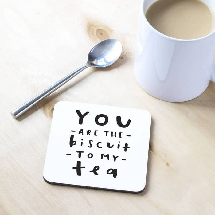 Biscuit To My Tea Coaster