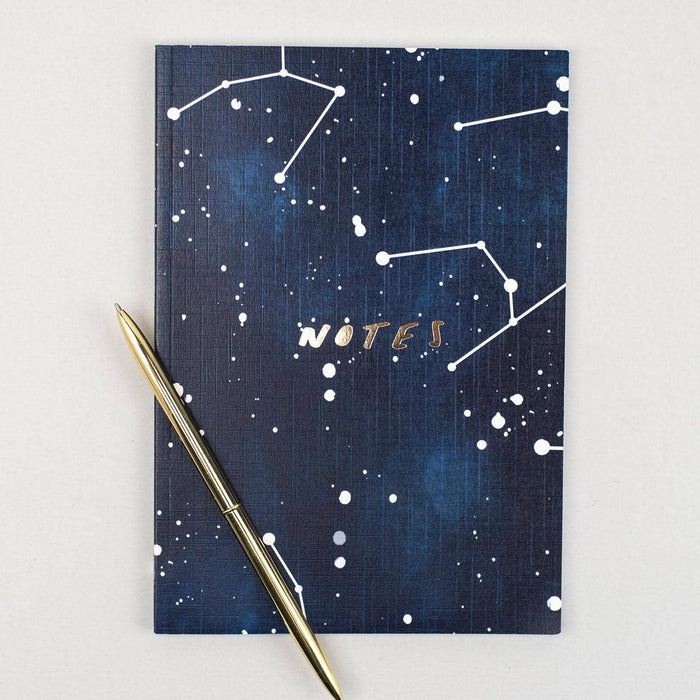 Star Constellation Linen Notebook