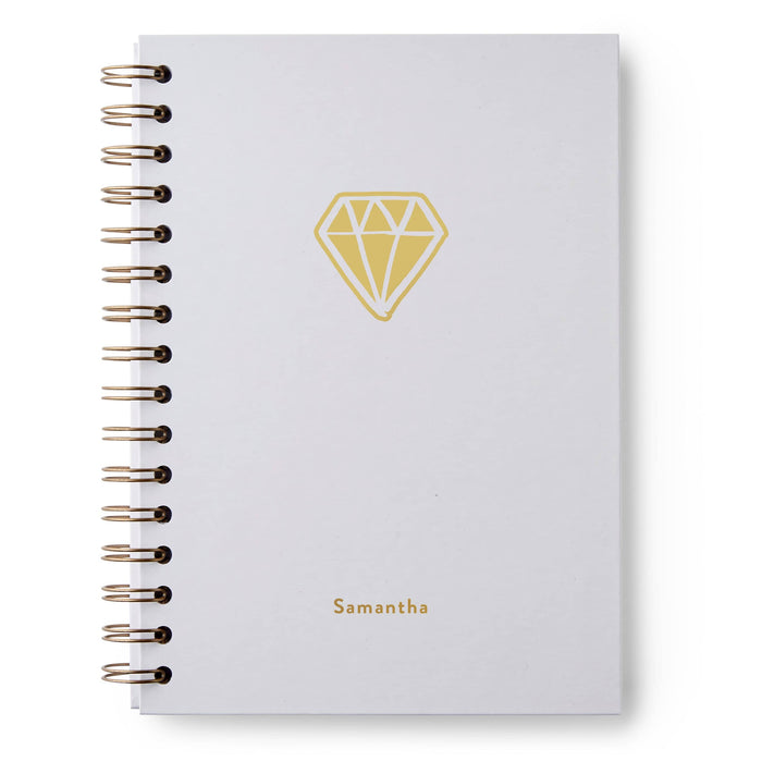Diamond Hardback Notebook
