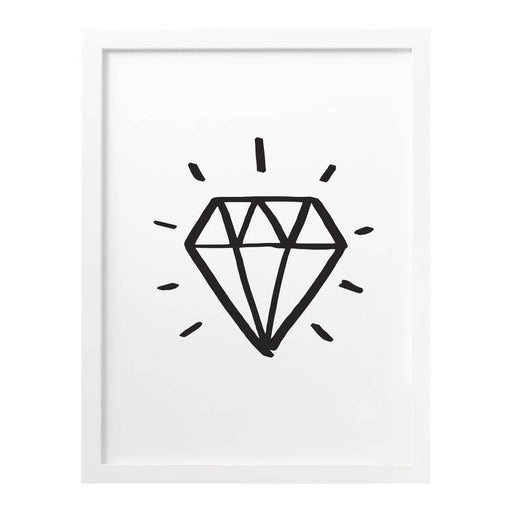 personalised diamond print