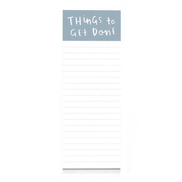 Things To Get Done Notepad