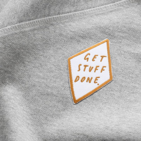 Get Stuff Done Embroidered Patch