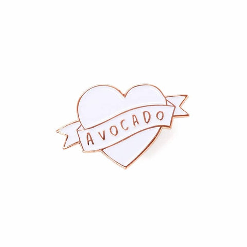 Love Avocado Enamel Pin