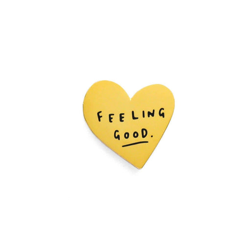 Feeling Good Heart Pin