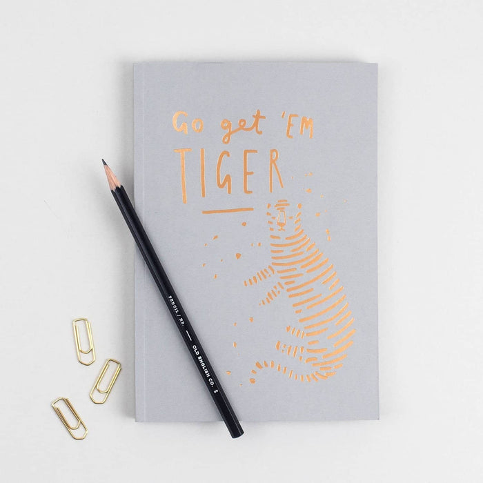 Tiger Foiled Planner