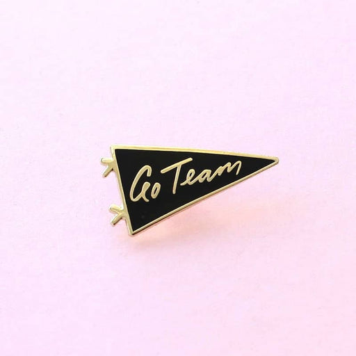 flag enamel pin