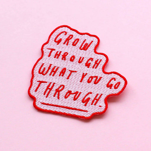 Grow Through Quote Patch