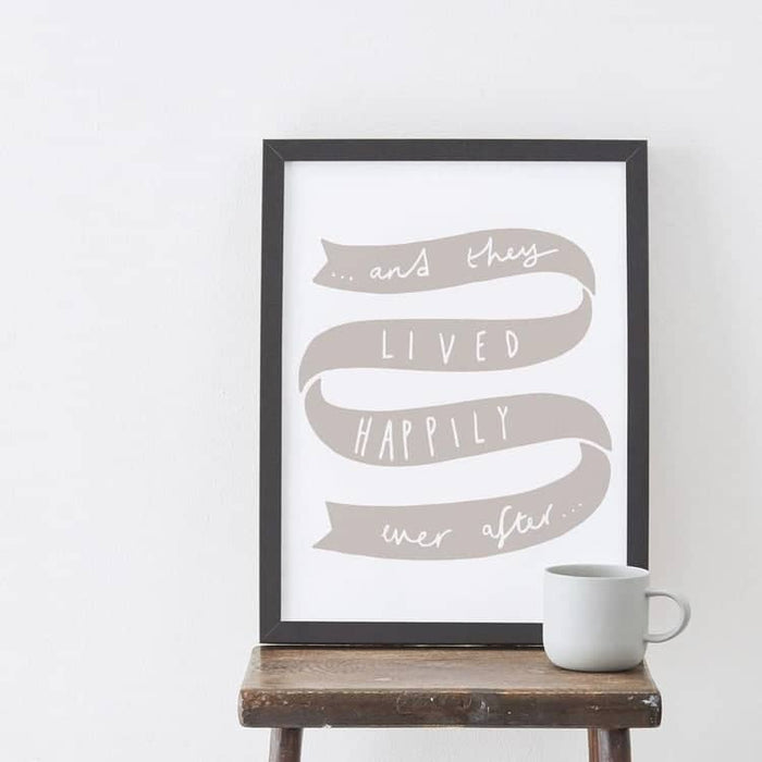 Anniversary Words print
