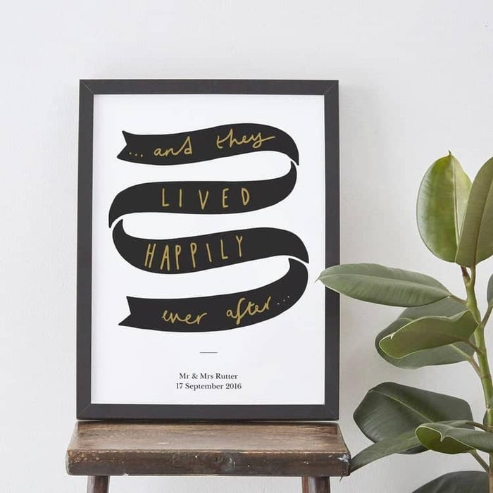 Happily ever after print