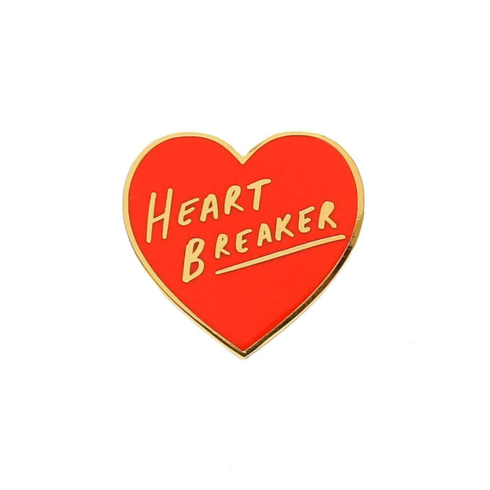 Heart Breaker Enamel Pin