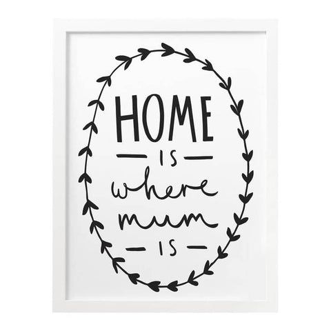 Home Is Where Mum Is Print