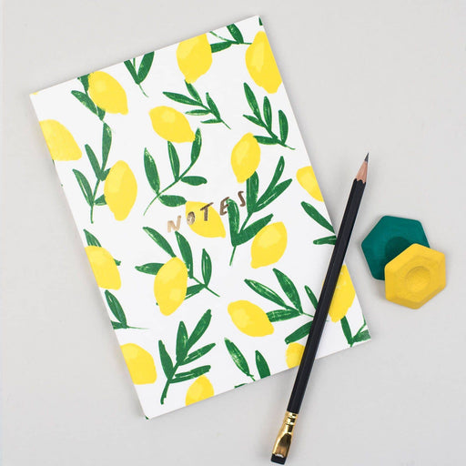 Lemon Linen Notebook