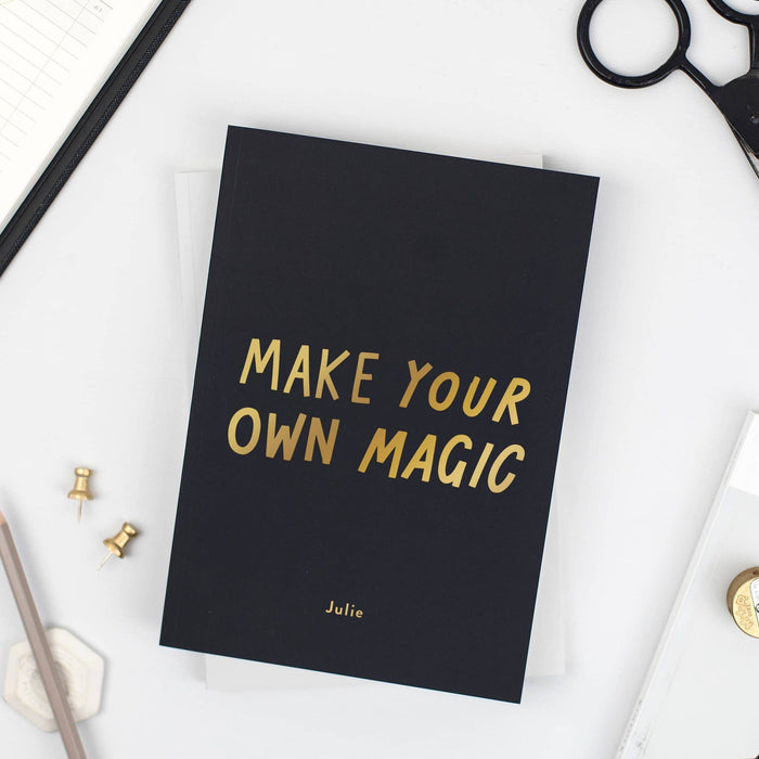 Make Your Own Magic notebook