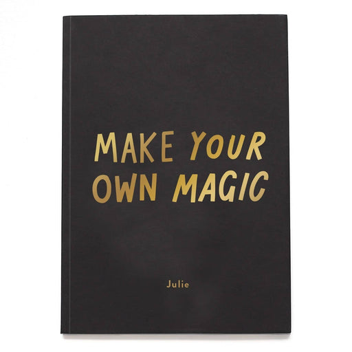 Make Your Own Magic personalised notebook