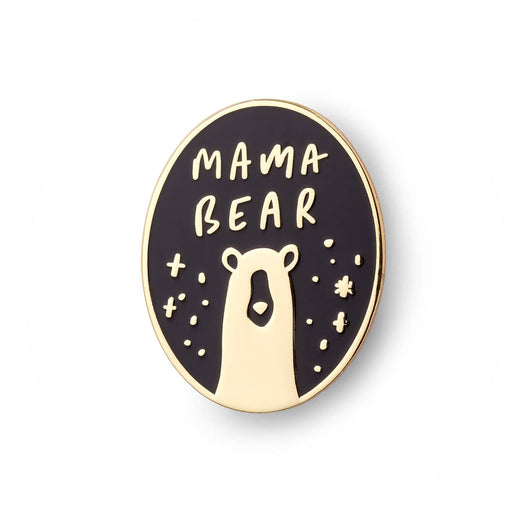 mama bear enamel pin badge
