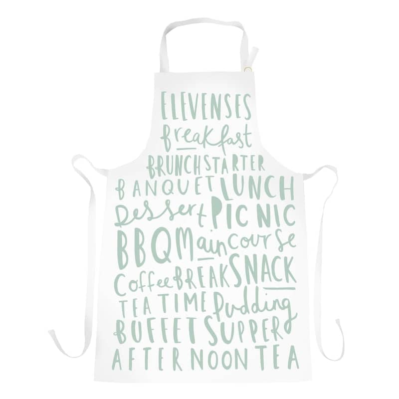 meal names apron