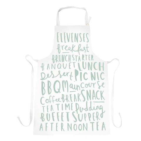 Meal Names Duck Egg Apron
