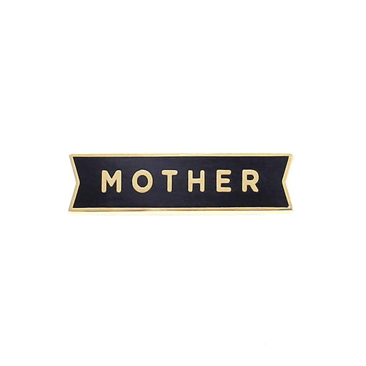 Mother enamel pin