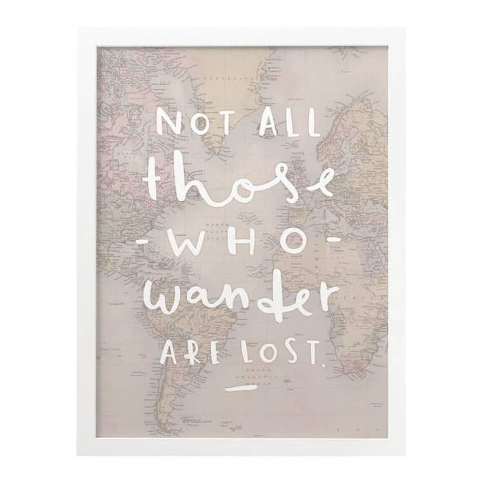 Not all those that wander map print typography map print old not all those who wander are lost map print gumiabroncs Image collections