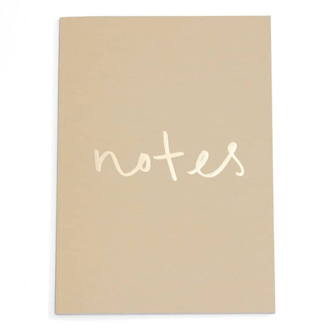 Notes A4 Notebook