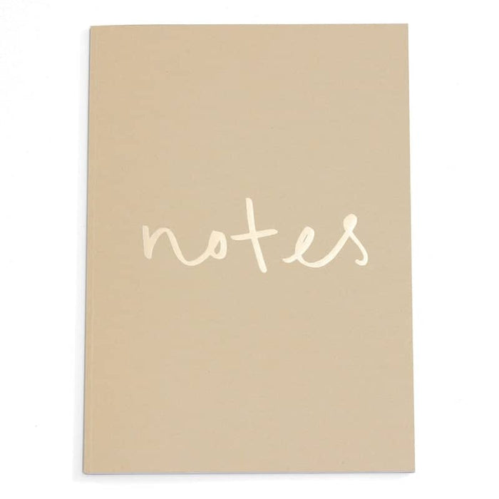 gold foil notes a4 notebook