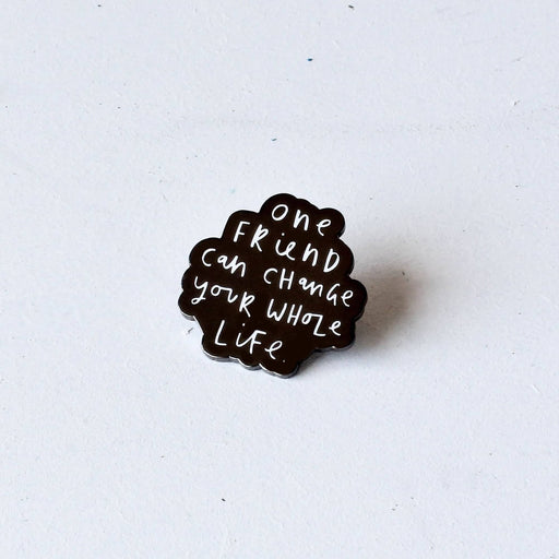 One Friend Enamel Pin