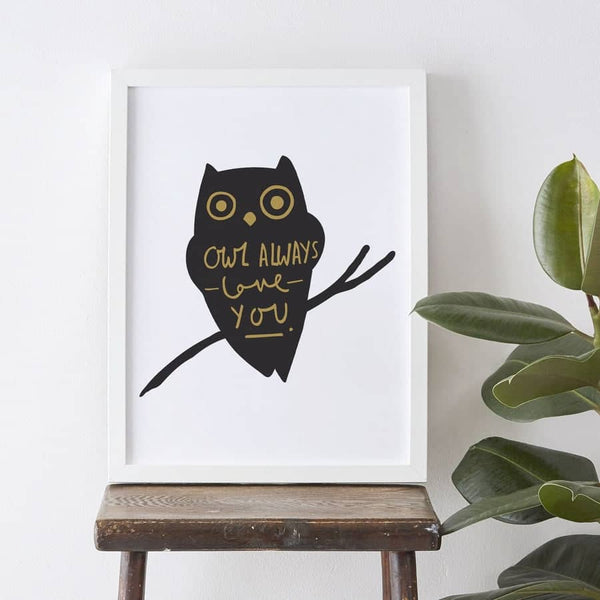 owl always love you print